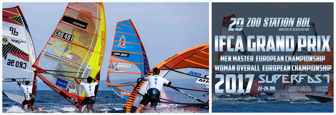 Windsurfing competition Croatia Bol