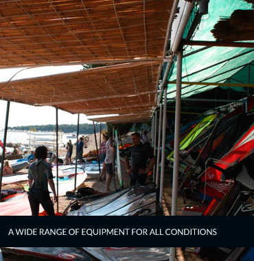 equipment rental and soring